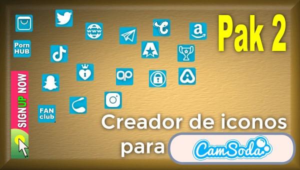 CamSoda - Pak 2 - Generador de iconos para tus redes sociales