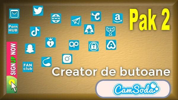 CamSoda - Pak 2 - Generator de butoane și pictograme social media