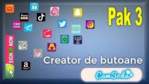 CamSoda – Pak 3 – Generator de butoane și pictograme social media