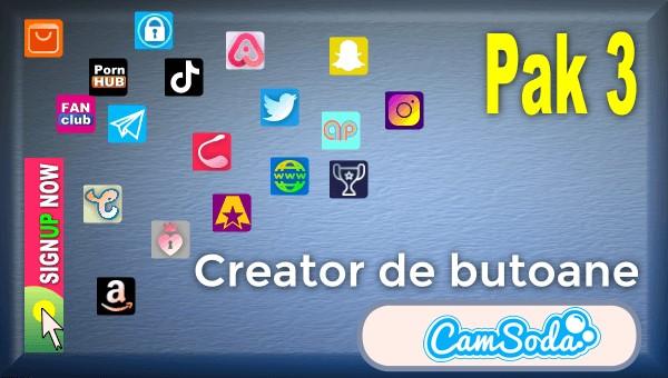 CamSoda - Pak 3 - Generator de butoane și pictograme social media