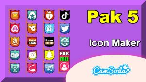 CamSoda – Pak 5 – Social Media Icon Maker Online Tool