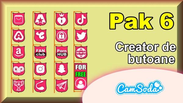 CamSoda – Pak 6 – Generator de butoane și pictograme social media