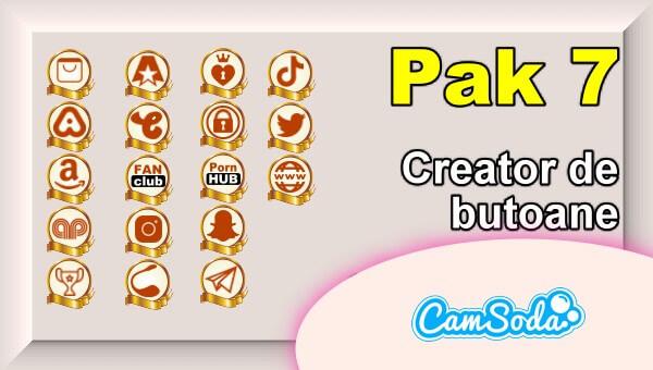 CamSoda - Pak 7 - Generator de butoane și pictograme social media
