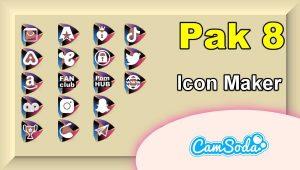 CamSoda – Pak 8 – Social Media Icon Maker Online Tool