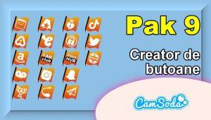 CamSoda – Pak 9 – Generator de butoane și pictograme social media