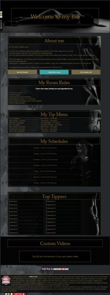 Camsoda Demo Design 7 - already created for your Biography of Camsoda