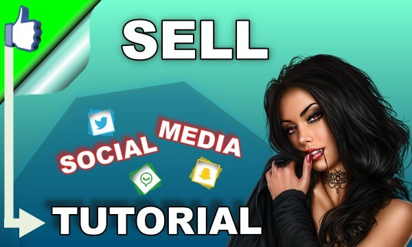 How can you sell access to your social networks in chaturbates?