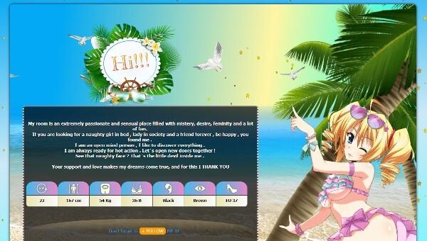 Design 70 – Chaturbate BIO profile already created