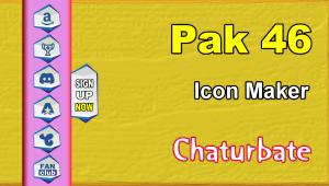 Pak 46 – FREE Chaturbate Social Media Button and Icon Maker