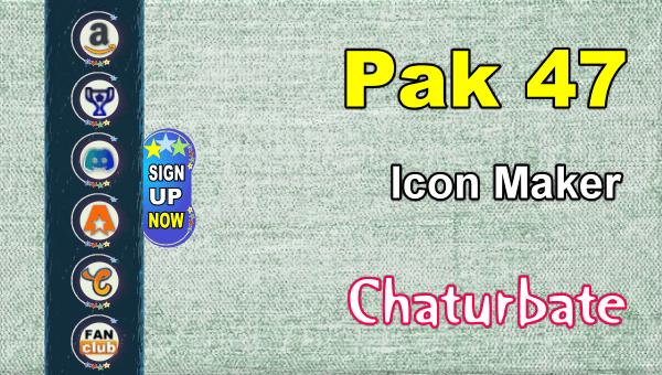 Pak 47 - FREE Chaturbate Social Media Button and Icon Maker