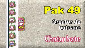 Pak 49 – Generator de butoane și pictograme pentru Chaturbate