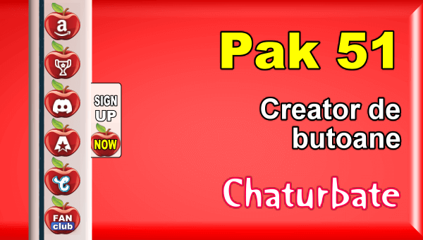 Pak 51 - Generator de butoane și pictograme pentru Chaturbate