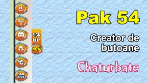 Pak 54 – Generator de butoane și pictograme pentru Chaturbate