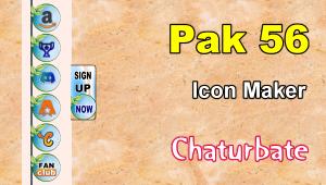 Pak 56 – FREE Chaturbate Social Media Button and Icon Maker