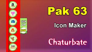 Pak 63 – FREE Chaturbate Social Media Button and Icon Maker