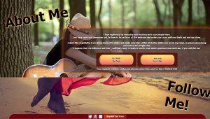 Design 75 – Chaturbate BIO profile already created