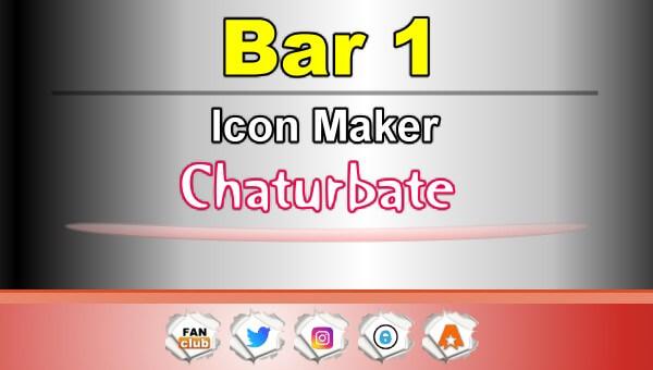 Bar 1 - FREE Chaturbate Icon Maker for your BIO