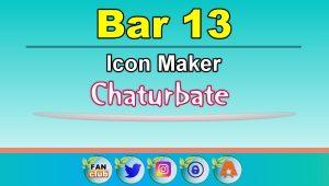 Bar 13 – FREE Chaturbate Icon Maker for your BIO