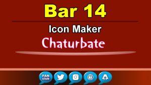 Bar 14 – FREE Chaturbate Icon Maker for your BIO