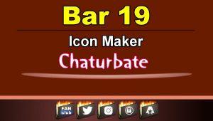 Bar 19 – FREE Chaturbate Icon Maker for your BIO