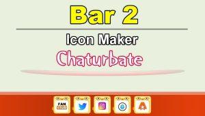 Bar 2 – Social Media Icon Maker for Chaturbate