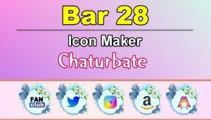 Bar 28 – FREE Chaturbate Icon Maker for your BIO
