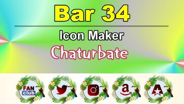 Bar 34 – FREE Chaturbate Icon Maker for your BIO