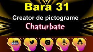 Bara 31 – Generator de pictograme social media pentru Chaturbate