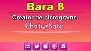 Bara 8 – Generator de pictograme social media pentru Chaturbate