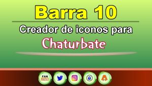 Barra 10 – Generador de iconos para redes sociales – Chaturbate
