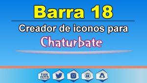 Barra 18 – Generador de iconos para redes sociales – Chaturbate