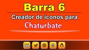 Barra 6 – Generador de iconos para redes sociales – Chaturbate