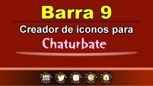 Barra 9 – Generador de iconos para redes sociales – Chaturbate